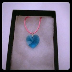 Jewelry - Atlantic Turquoise Crystal Heart Necklace